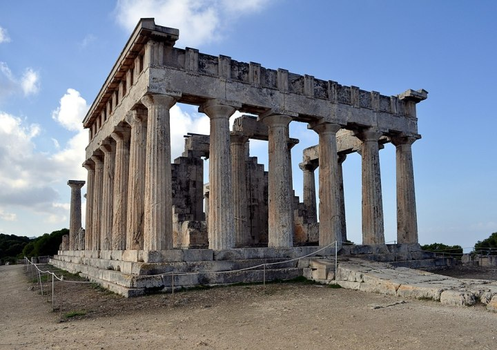 Guide to Aegina Aphaia Temple Afea