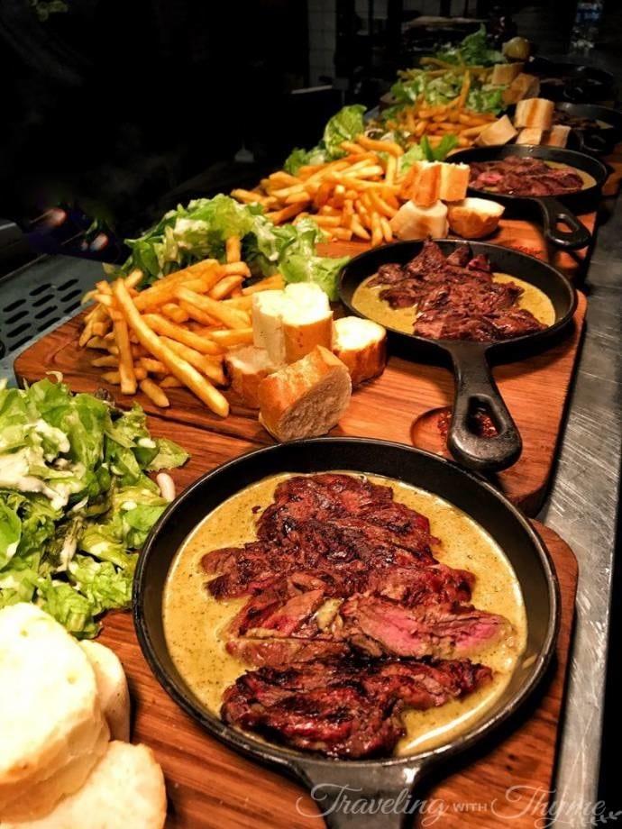 swiss butter gemmayzeh steak frites beirut