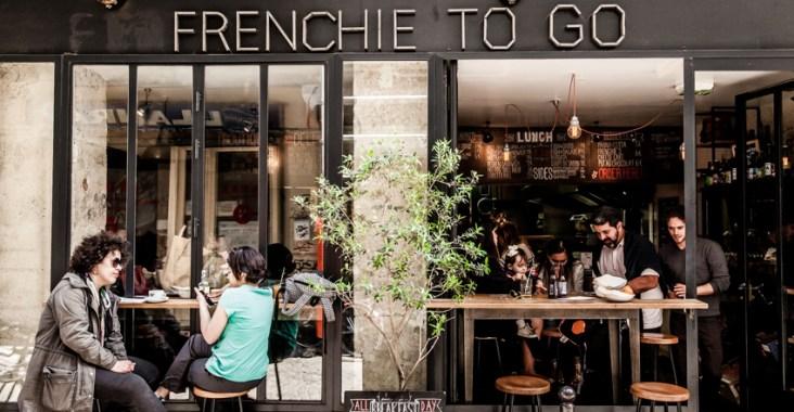 Frenchie to go paris restaurant exterior