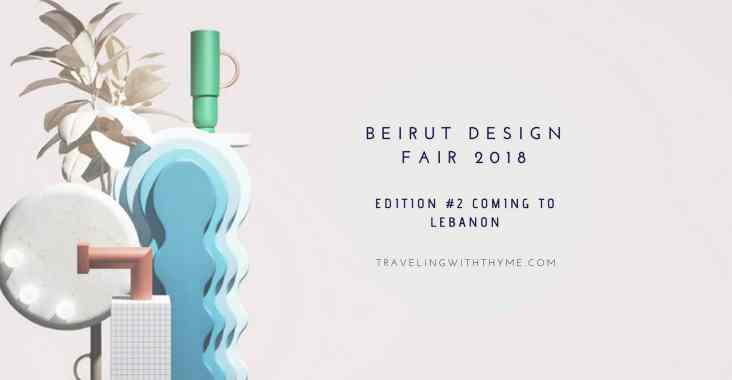 Beirut Design Fair 2018 Lebanon Events