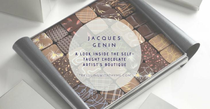 Jacques Genin Chocolate Chocolaterie Paris Foodie