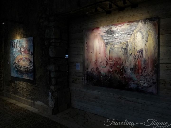Tom Young Lebanon Art Gallery Painting
