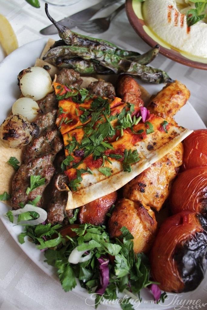 Baytna Barouk Restaurant Lebanese Food Mashewe