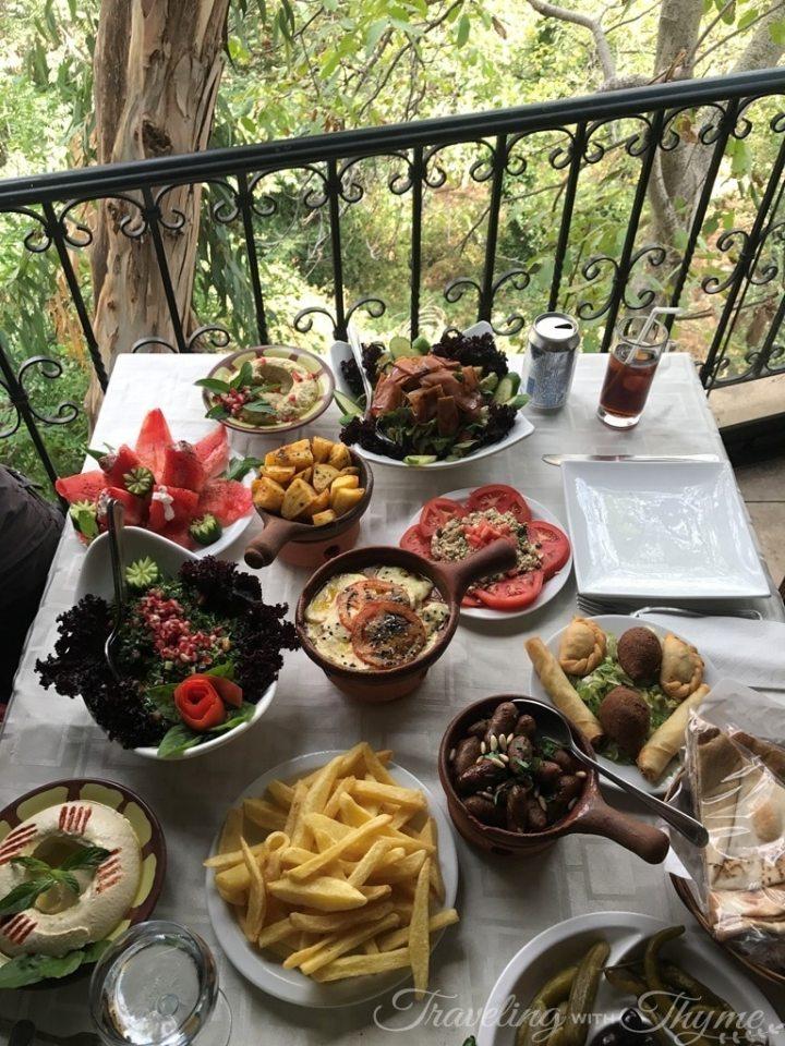 Baytna Barouk Restaurant Lebanese Food Mezza