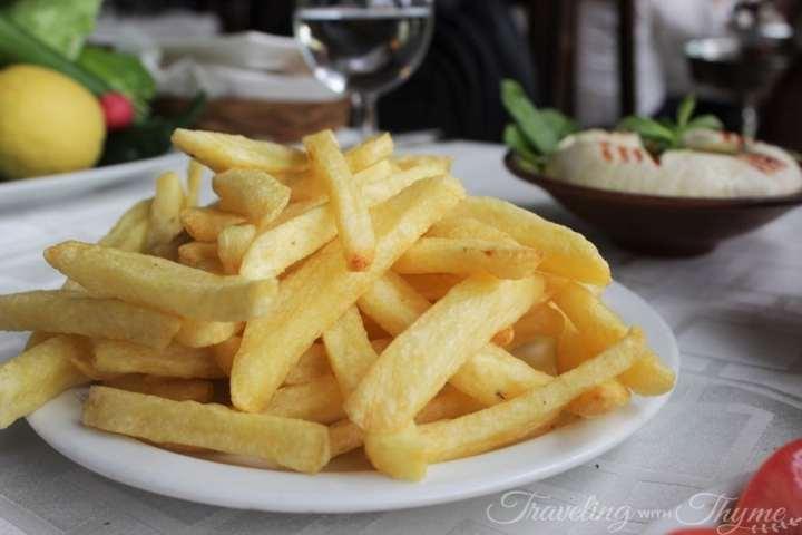 Baytna Restaurant Barouk Shouf Batata Lebanese