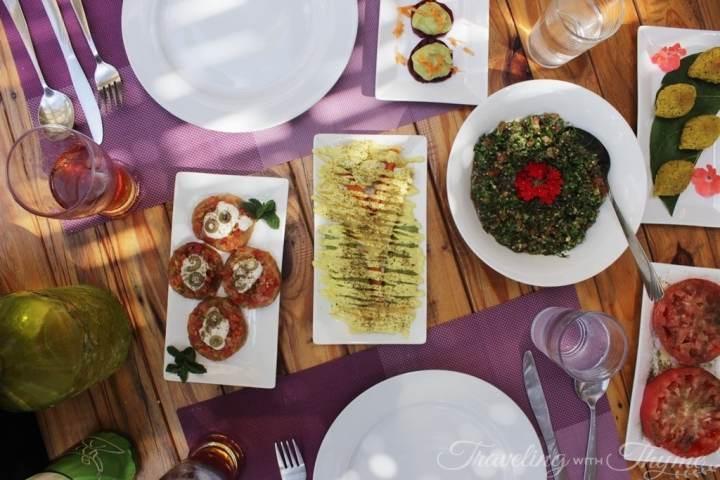 Coara Vegan Restaurant Lebanon Shouf Lebanese (1)