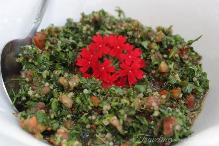 Coara Vegan Quinoa Tabbouleh Lebanese recipe