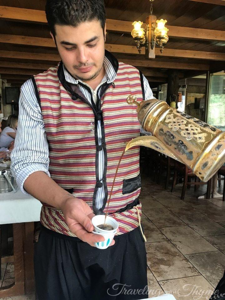 Lebanese Turkish Coffee Baytna Restaurant Barouk