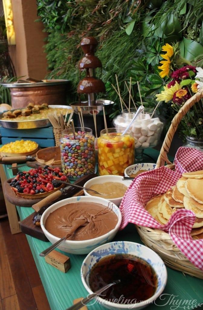 SUD brunch beirut dessert buffet chocolate