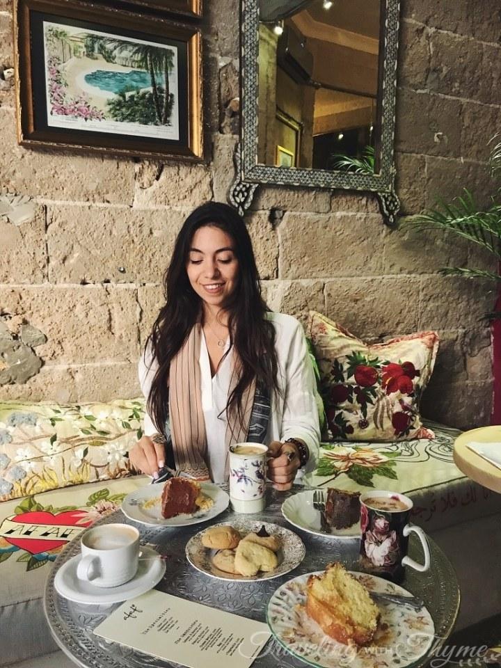 Afaf Just Because Lebanon Eats Blogger