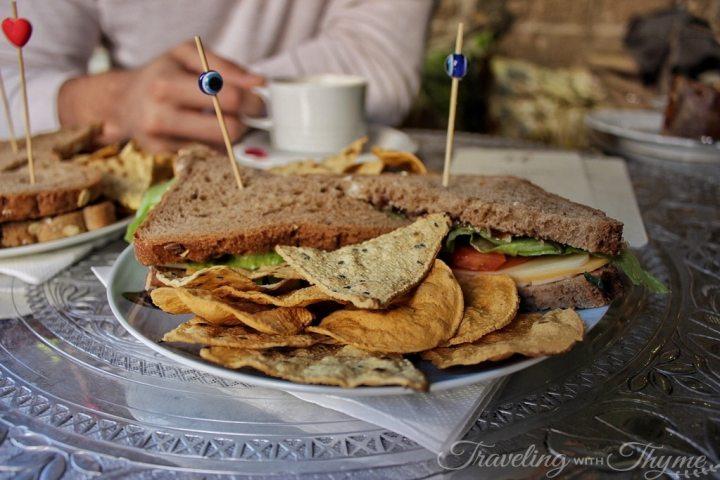 Afaf sandwiches healthy beirut coffee shop