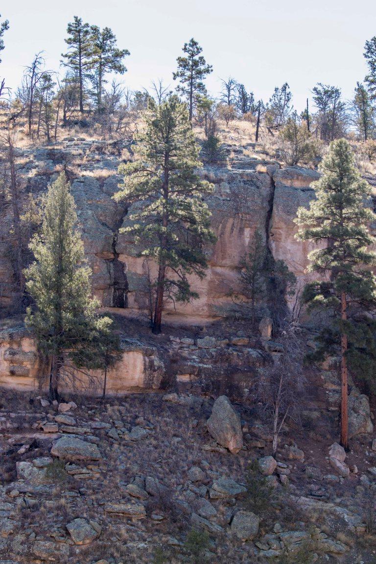Gila Cliff Dwellings City of Rocks-2532