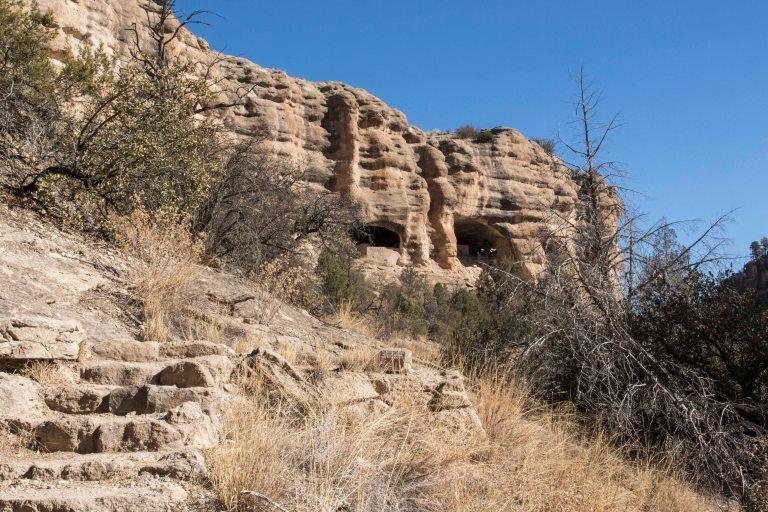 Gila Cliff Dwellings City of Rocks-6109