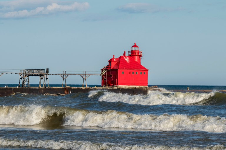Sturgeon Bay Shipping Channel Light-4717