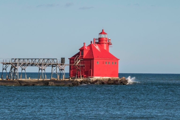 Sturgeon Bay Shipping Channel Light-4732