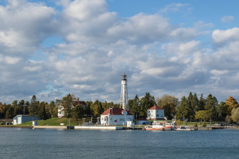 Sturgeon Bay Shipping Channel Light-9859