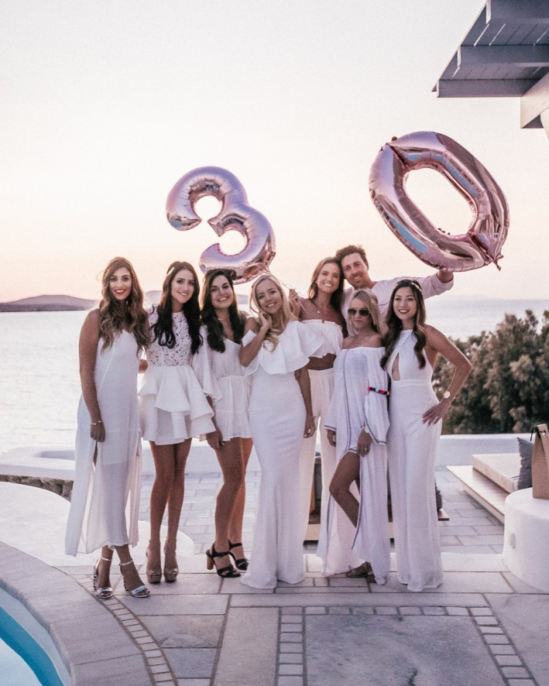 My Big Fat Greek 30th Birthday Party & a Private Jet!