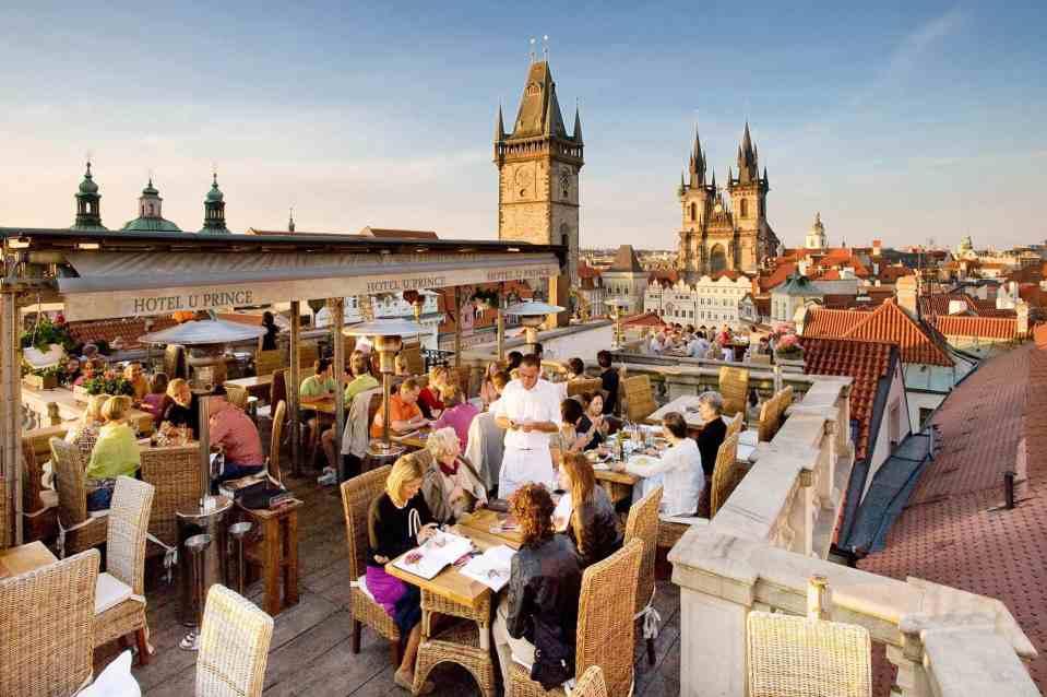 布拉格餐廳推薦清單 Terasa U Prince