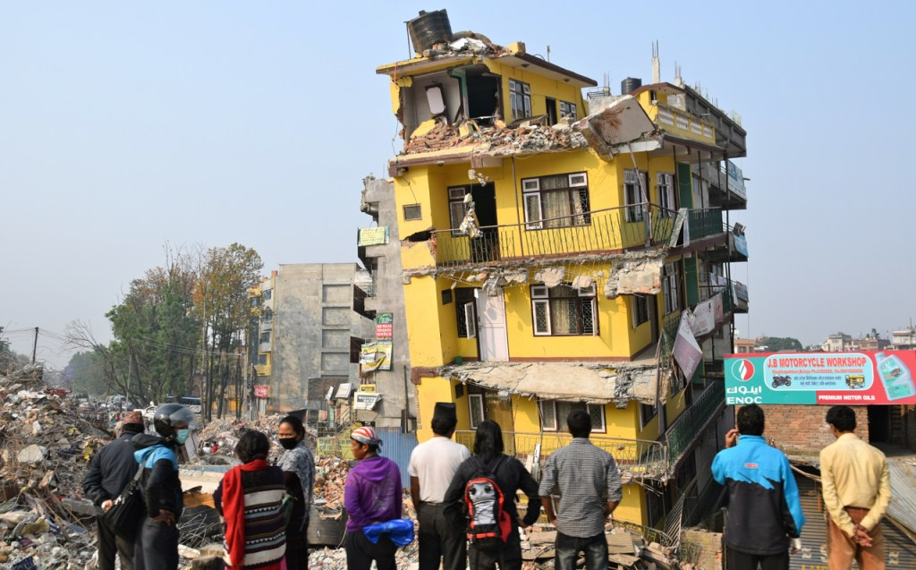 after the nepal earthquake