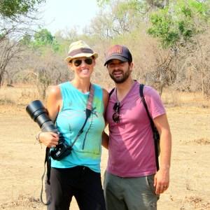 walking safari encounter