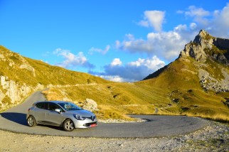 Leasing a car in Europe let us get out into some pristine nature.