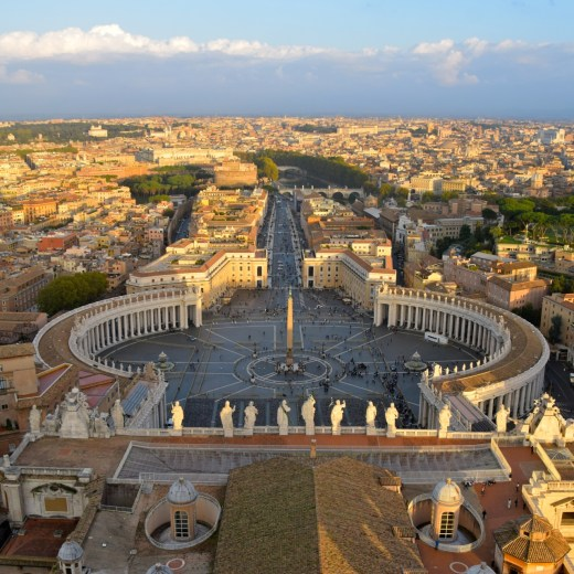 Italy Travel Guide: From atop the Vatican