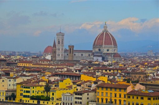 Italy Travel Guide: Florence from Piazza Michelangleo
