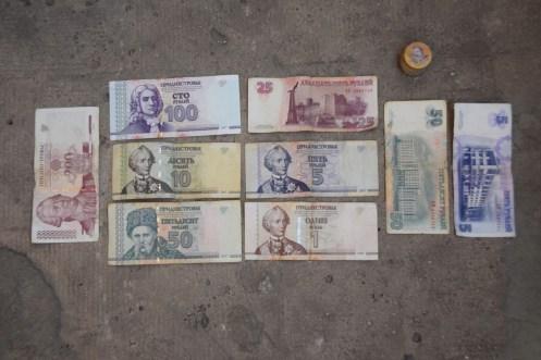 Visting Moldova & Transnistria...worthless money!