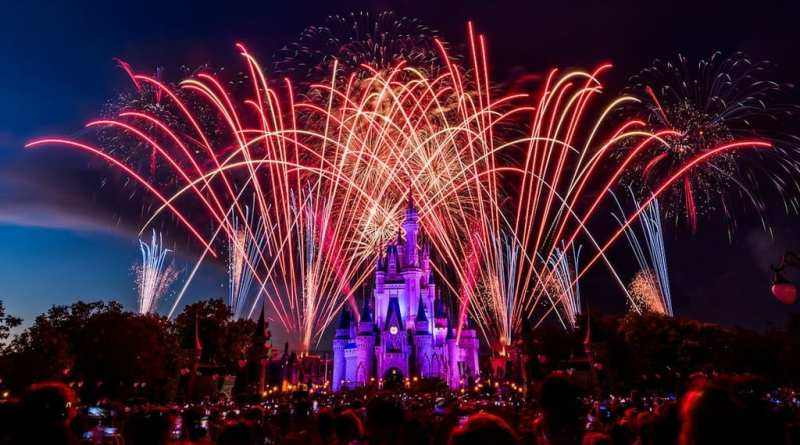 4th of July Fireworks at Disneyland