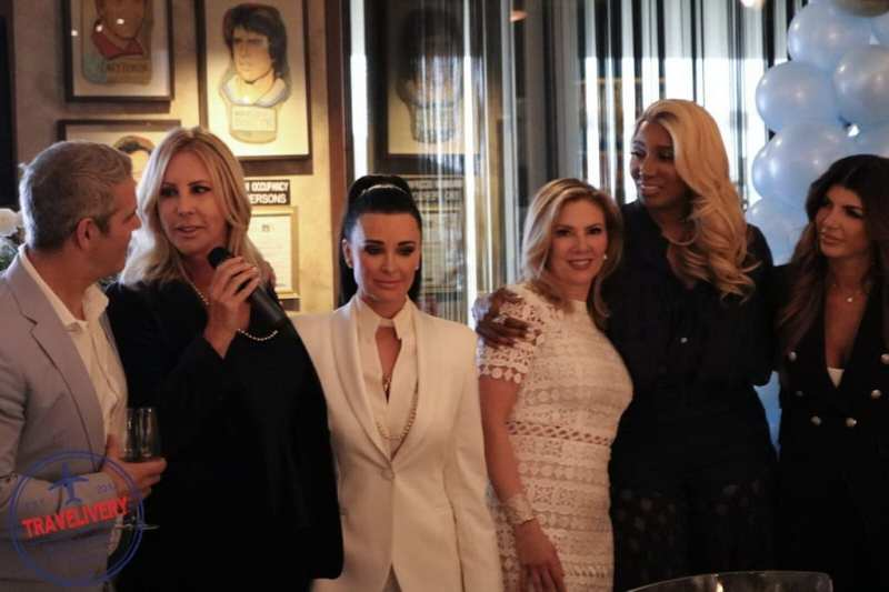 Andy Cohen, Vicki Gunvalson, Kyle Richards, and more