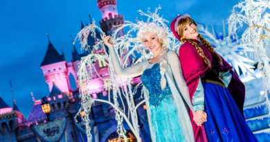 Anna and Elsa have Frozen Fun at Disney California Adventure