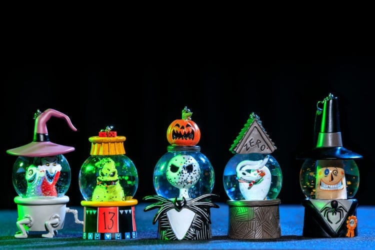 Halloween Time – The Nightmare Before Christmas Ornaments