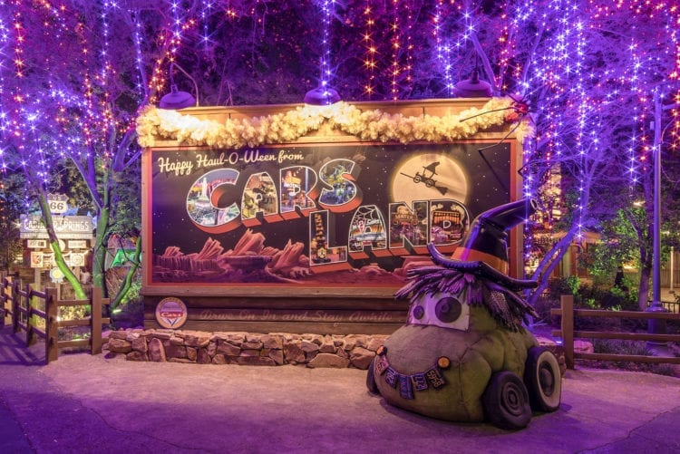 Haul-O-Ween Comes to Cars Land at Disney California Adventure Park