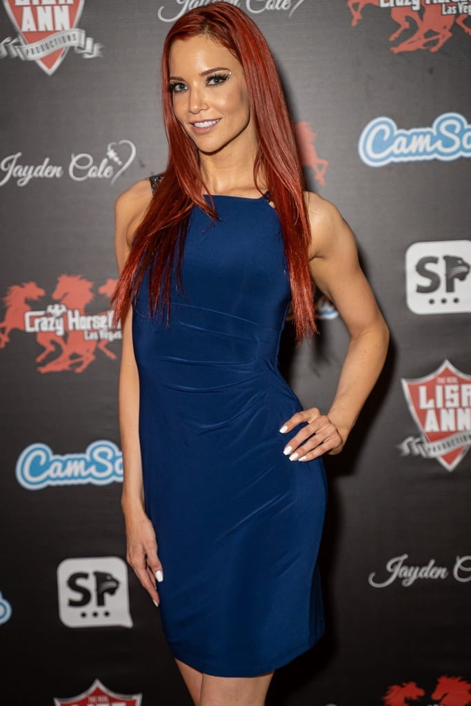 Jayden Cole on Crazy Horse 3 Red Carpet