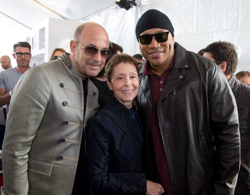 John Varvatos, Gail Abarbanel, and LL Cool J at John Varvatos 11th Annual Stuart House Benefit