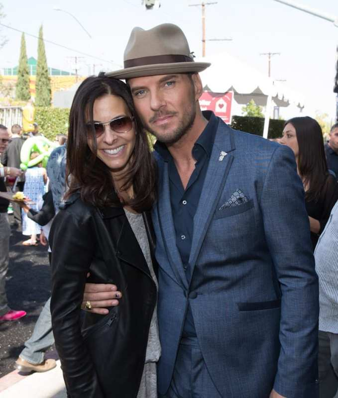 Joyce Varvatos and Matt Goss at John Varvatos 11th Annual Stuart House Benefit