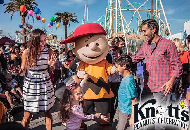 Knott's Berry Farm - Peanuts Celebration