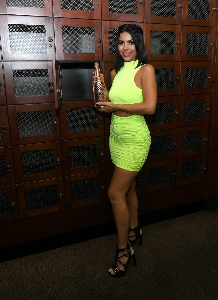 Larissa Lima with Wine Lockers