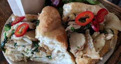 Porchetta Sandwich at Esther's Kitchen