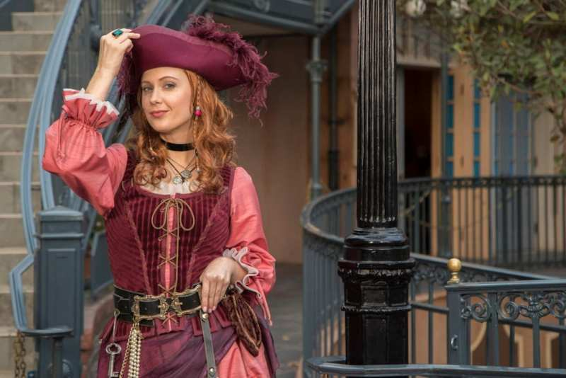Redd from Pirates of the Caribbean