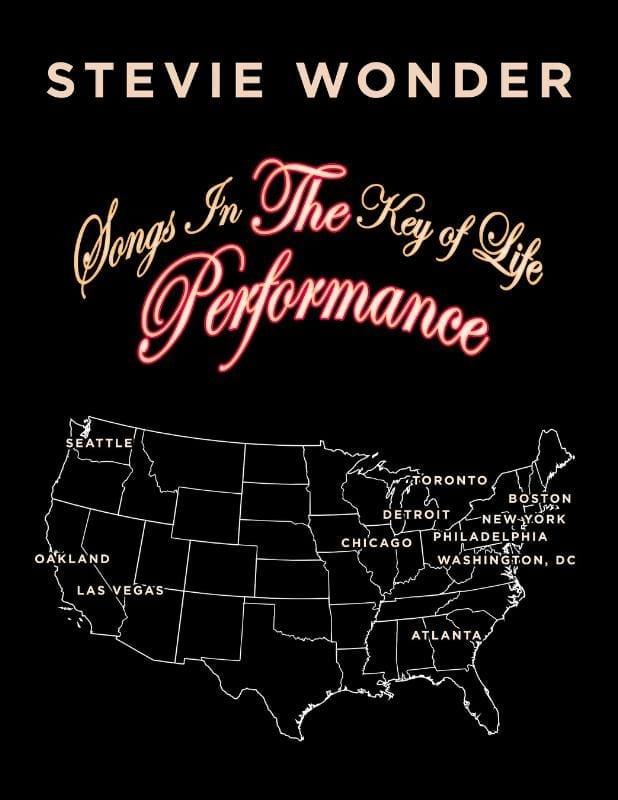 Stevie Wonder – Songs in the Key of Life Performance