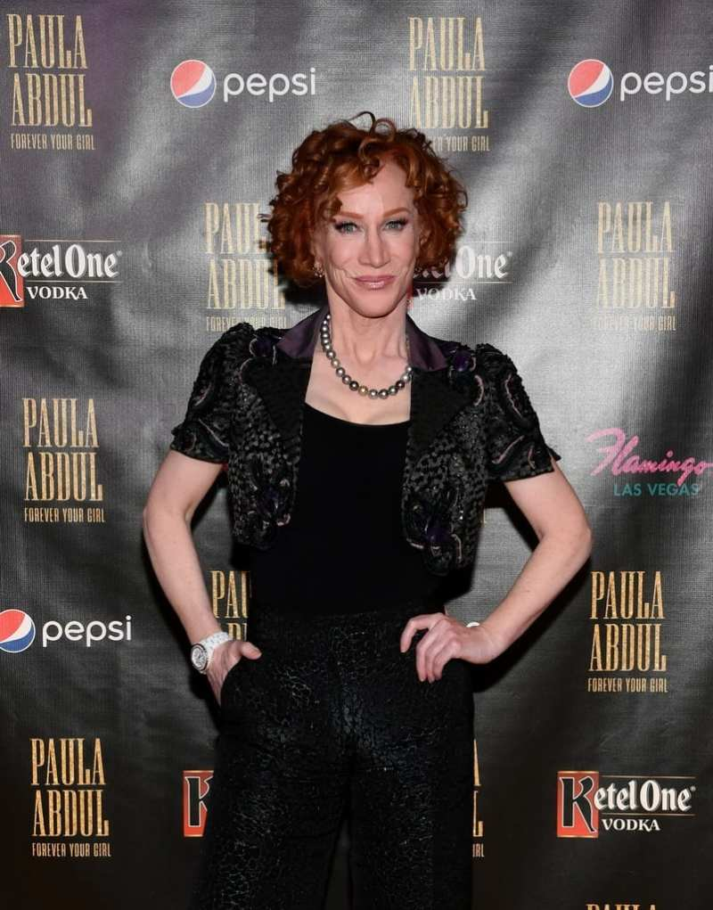 Kathy Griffin at Paula Abdul Forever Your Girl