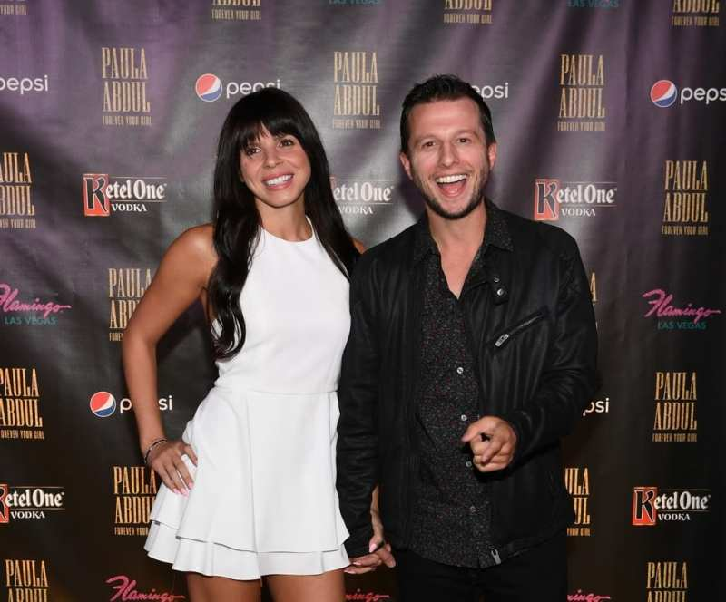 Mat Franco and Tianna Franco at Paula Abdul Forever Your Girl