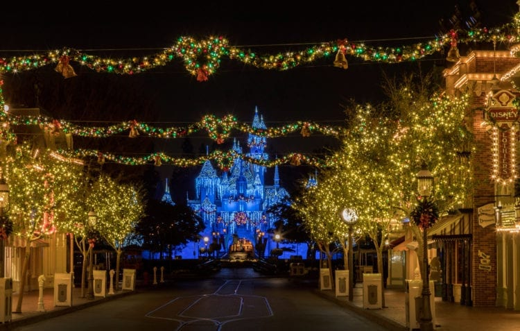 Holidays at Disneyland Resort – Sleeping Beauty's Winter Castle at Disneyland Park