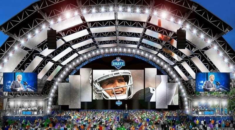 2020 NFL Draft Events in Las Vegas