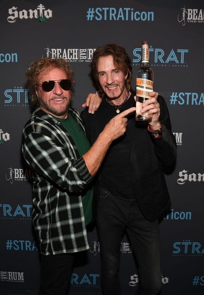 Rick Springfield and Sammy Hagar at The STRAT Hotel, Casino & SkyPod