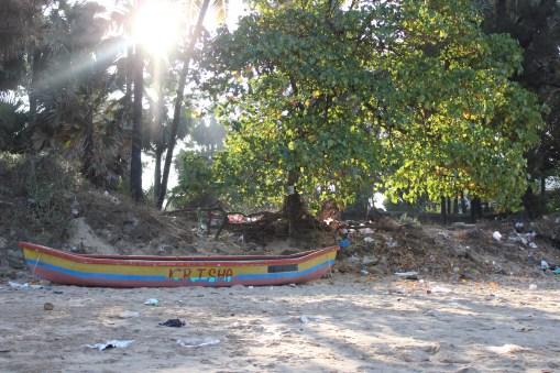 At the Manori Beach