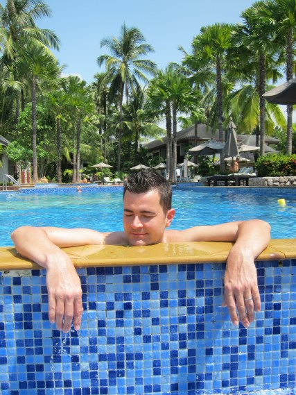 Relaxing Husband