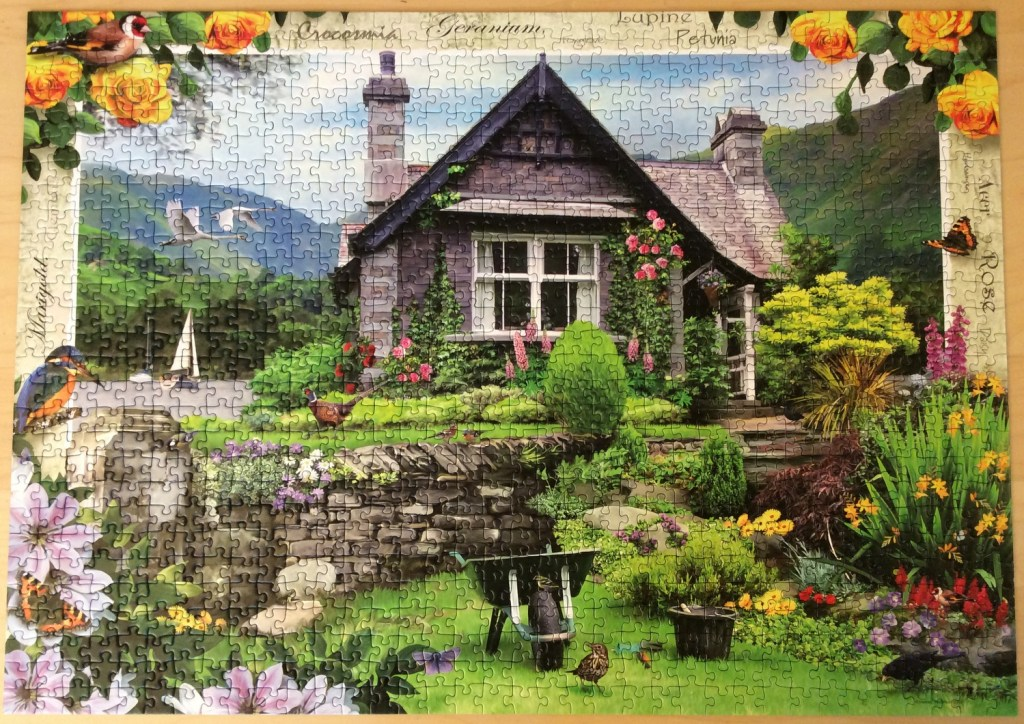 May's Jigsaw: A Lakeland Cottage by Ravensburger, 1000 piece