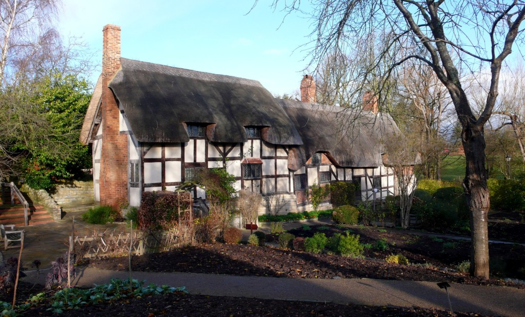 Anne Hathaway's House in Stratford, England
